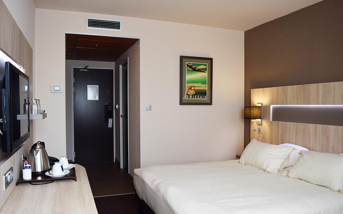 Chambre de l'hotel Best Western Marseille Aéroport