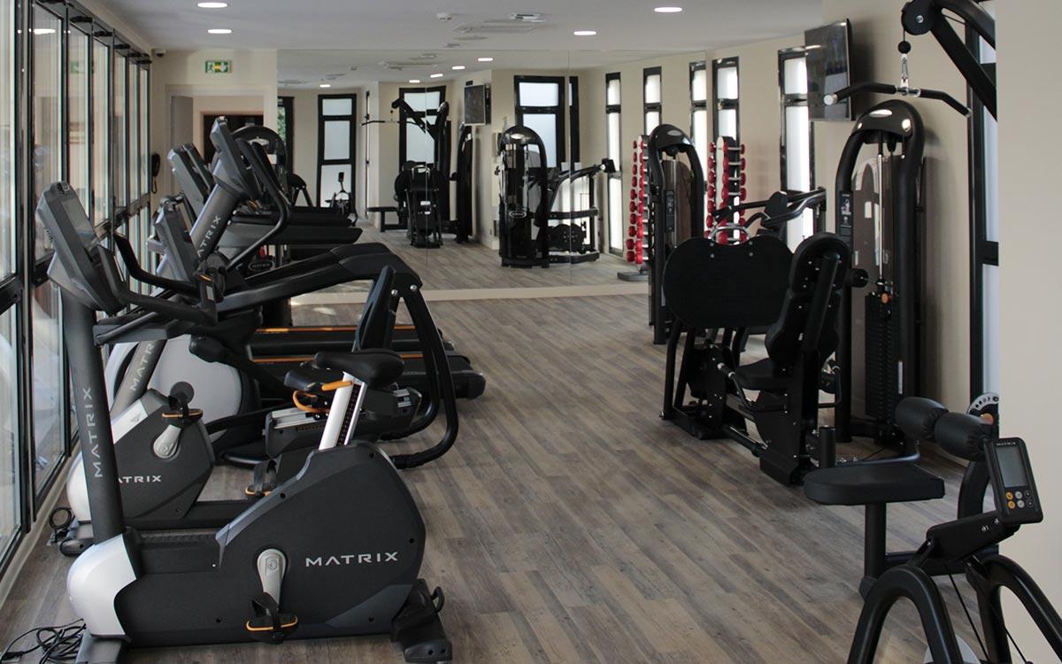 Salle de sport de l'hotel
